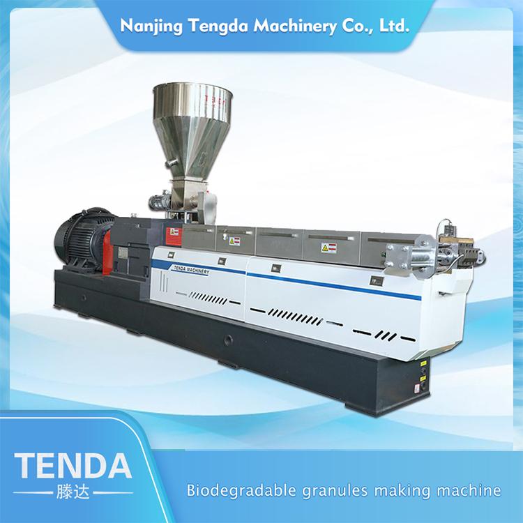 Tsh Twin Screw Extruder Machine Price PLA Biodegradable Pelletizing Machine