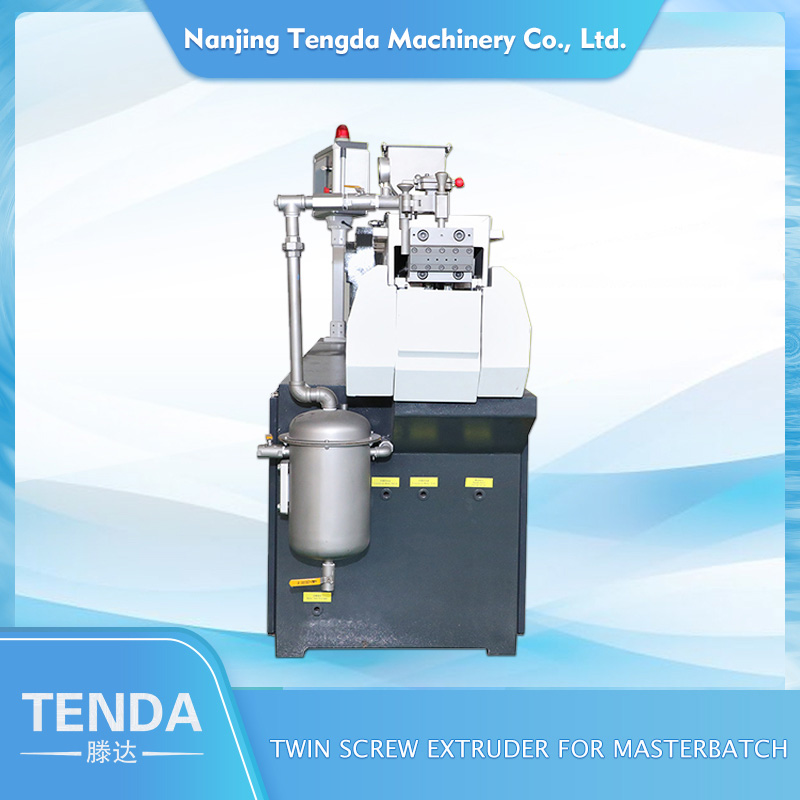 TENGDA Top laboratory twin screw extruder company for PVC pipe-1