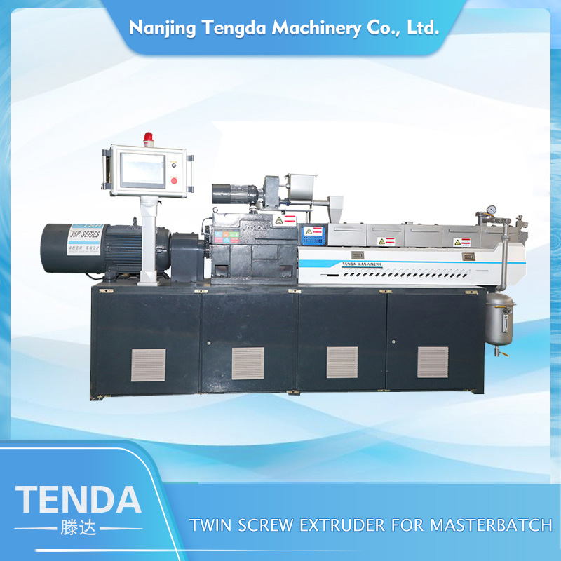 TENGDA Top laboratory twin screw extruder company for PVC pipe-2