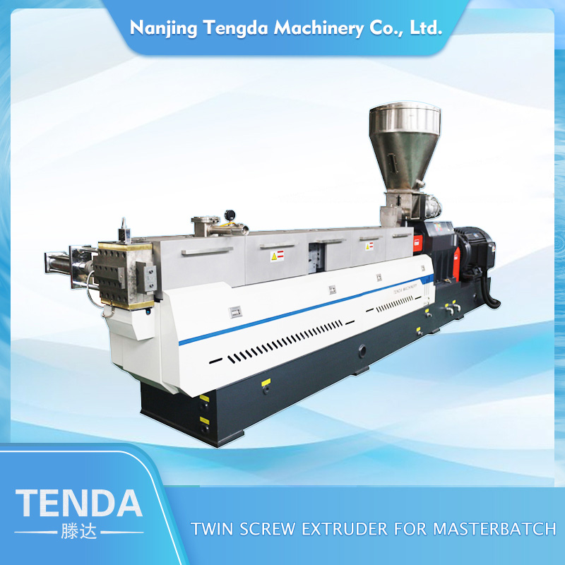 TENGDA Top steer twin screw extruder supply for PVC pipe-1