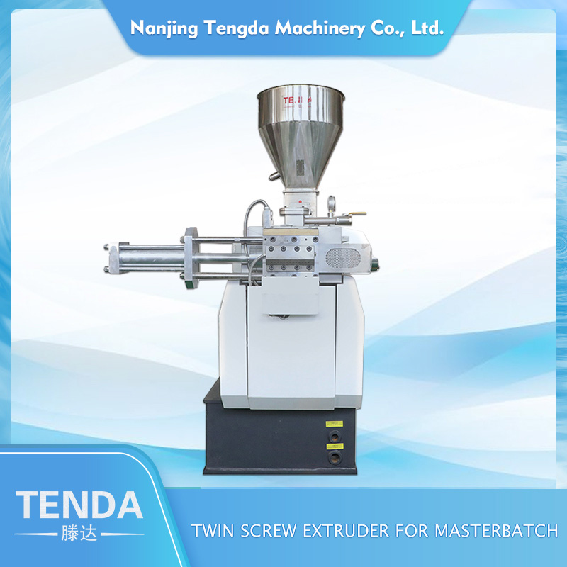 TENGDA Top steer twin screw extruder supply for PVC pipe-2