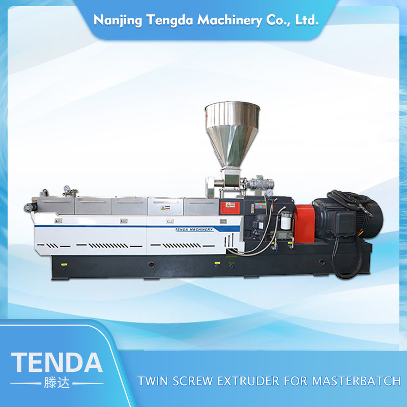 Masterbatch Twin Screw Extruder Plastic Production Extrusion Machine