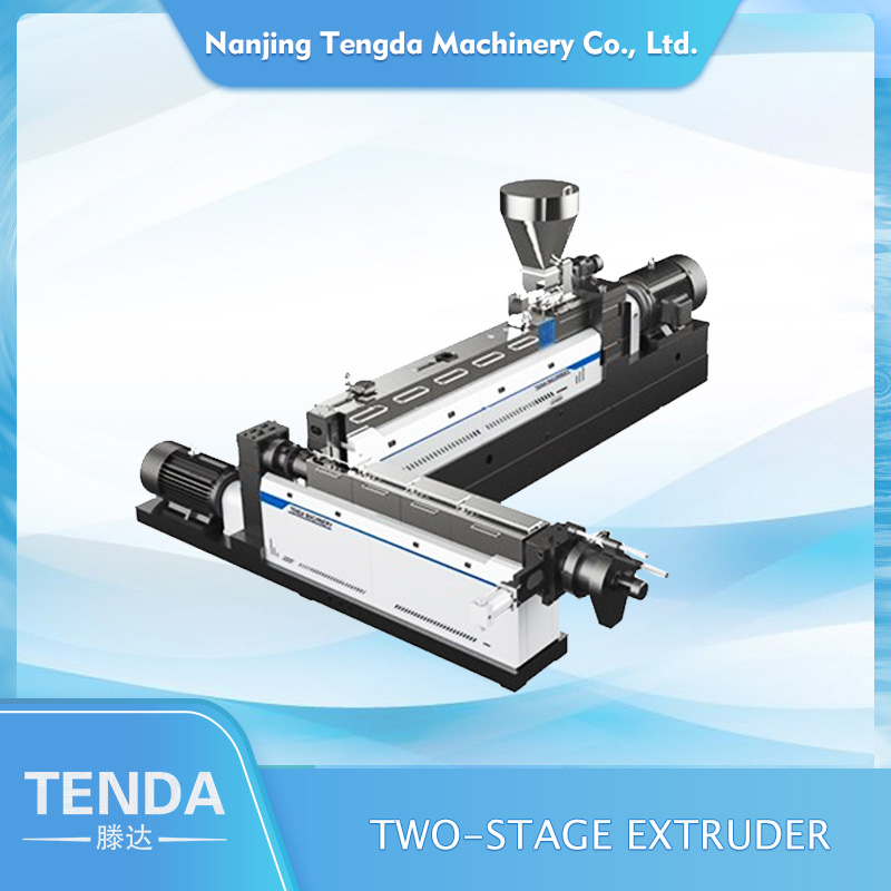 TENGDA polythene extruder machine manufacturers for PVC pipe-1