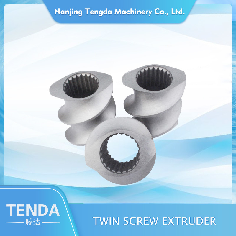 Screw Elements for Plastic Twin Screw Extruder Machine Manufacturers