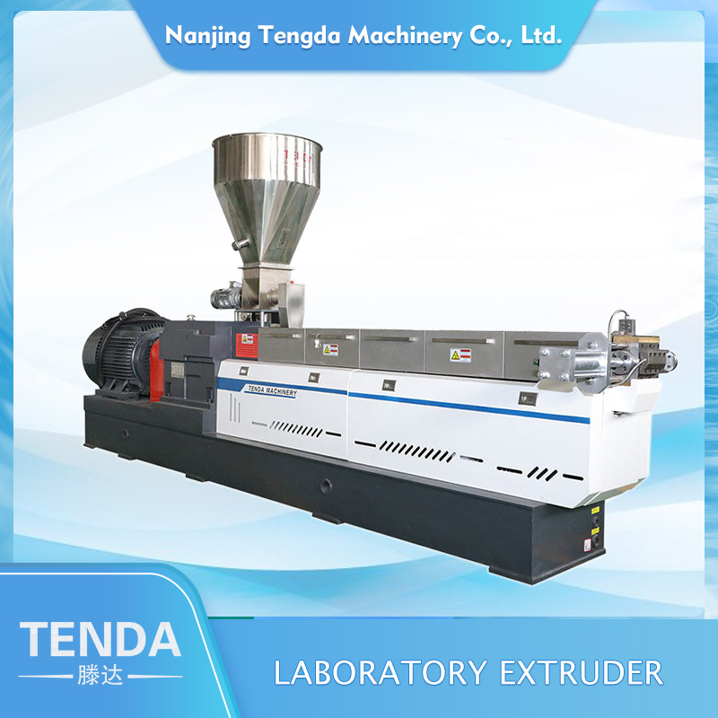 TENGDA Latest twin screw extrusion machine for business for plastic-1