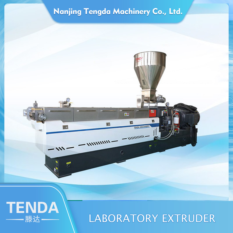 TENGDA Latest twin screw extrusion machine for business for plastic-2