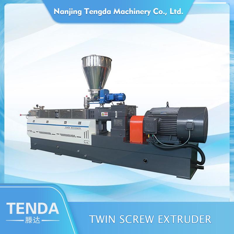 Wholesale TDH Twin Screw Plastic Granules Extruder High Torque
