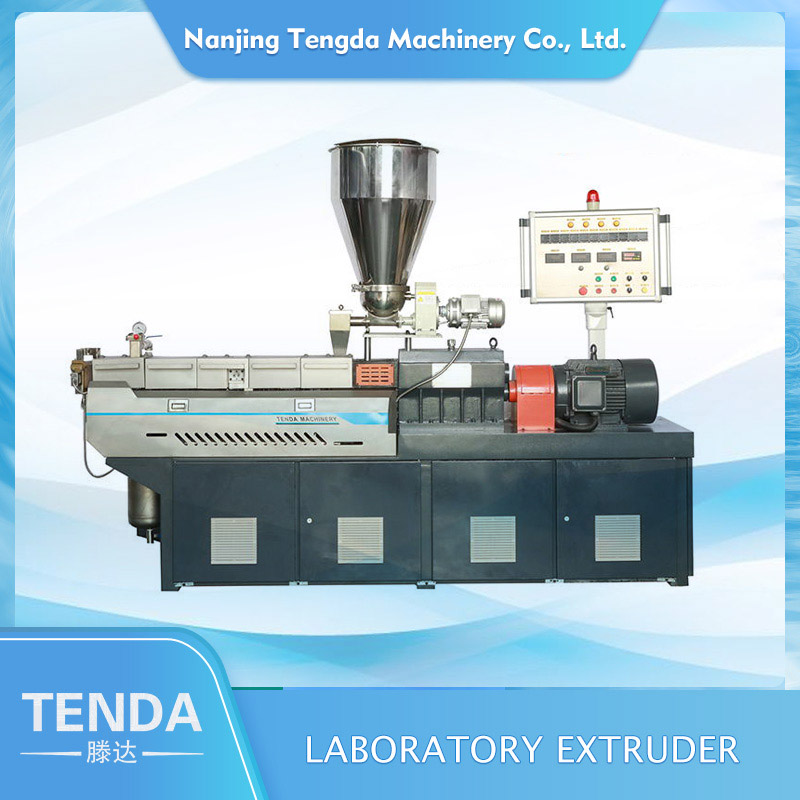 TENGDA pp film extruder supply for PVC pipe-2