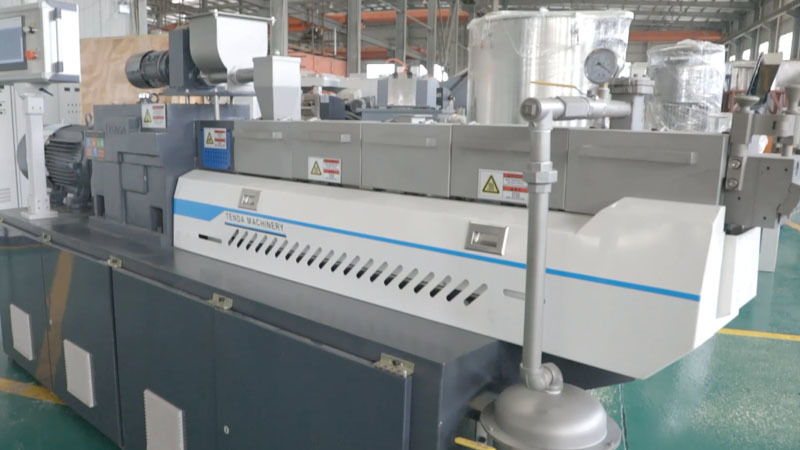 TSH35P-Experimental Twin Screw Granulator Machine Manufacturer