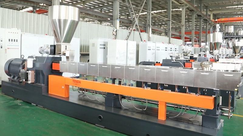 TSH75B Twin Screw Granulator Machine Manufacturer