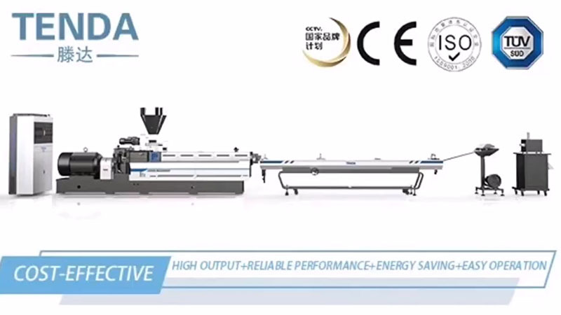 Twin-screw Extruder Machine Degradation Video