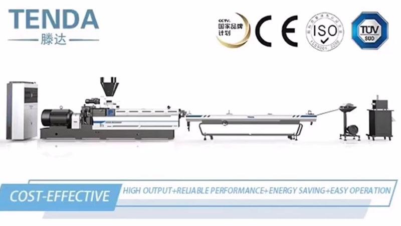 Twin-screw Extruder Machine Degradation Video