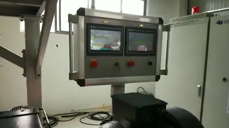 Weight Loss Weighing System TSH35P Twin Screw Granulator Machine