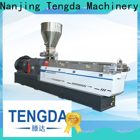 High-quality recycling extruder machine for business for plastic