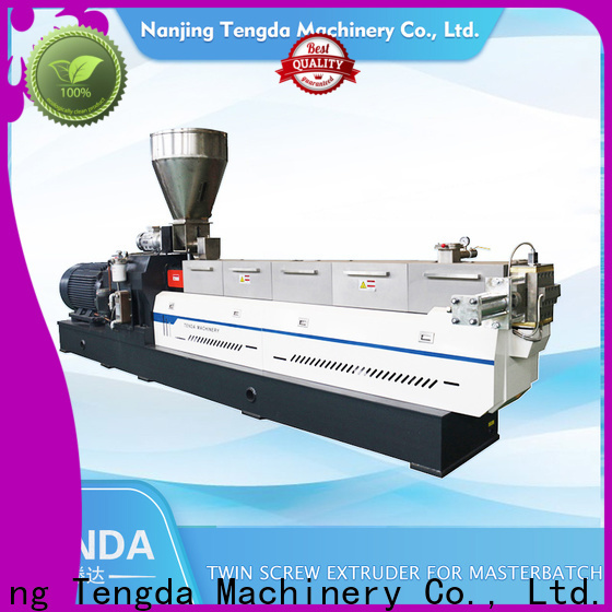 TENGDA parallel twin screw extruder manufacturers for food