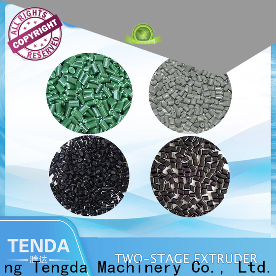 TENGDA polythene extruder machine manufacturers for PVC pipe