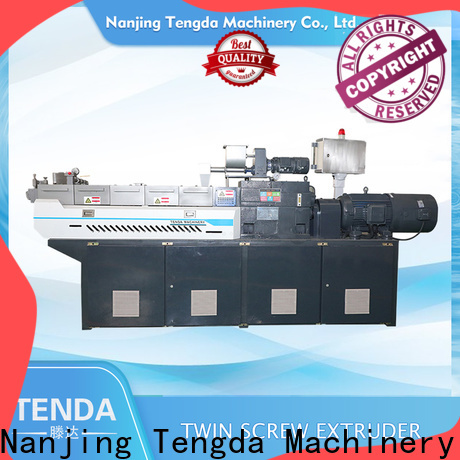 TENGDA lab scale extruder factory for clay
