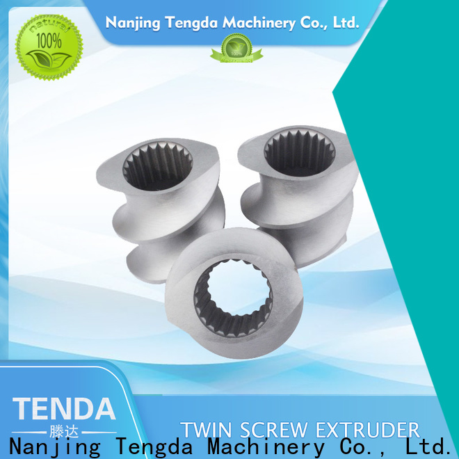 Custom extruder machine parts suppliers company for plastic