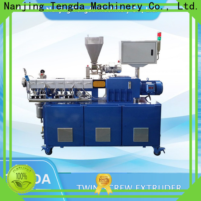 TENGDA Top tsh laboratory extruder manufacturers for plastic