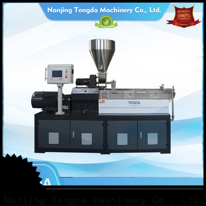 TENGDA laboratory extruder price supply for PVC pipe