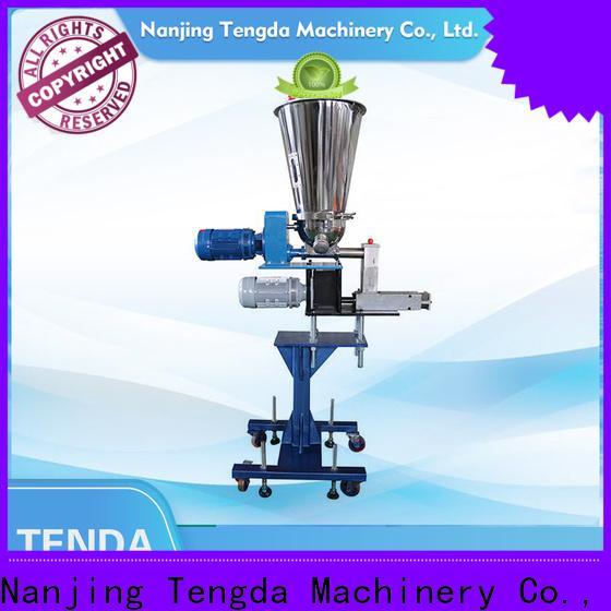 Custom twin screw feeder supply for food