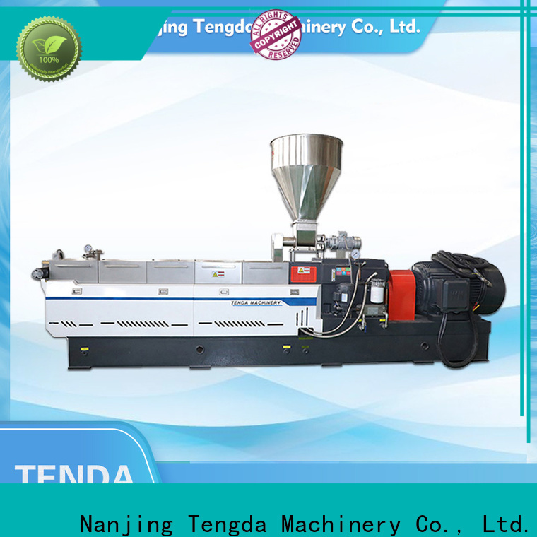 TENGDA screw extruder machine company for clay