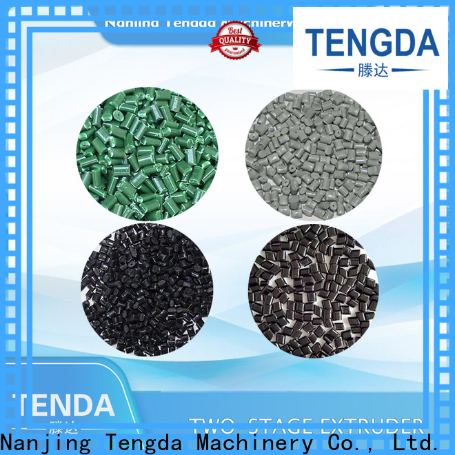 TENGDA pvc pipe extrusion line factory for food