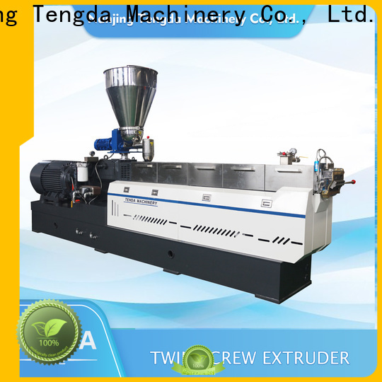 TENGDA pet extruder suppliers for PVC pipe