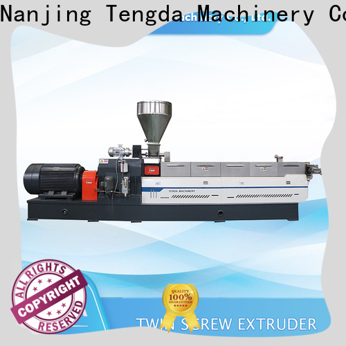 TENGDA Best plastic extruder machine for sale supply for clay
