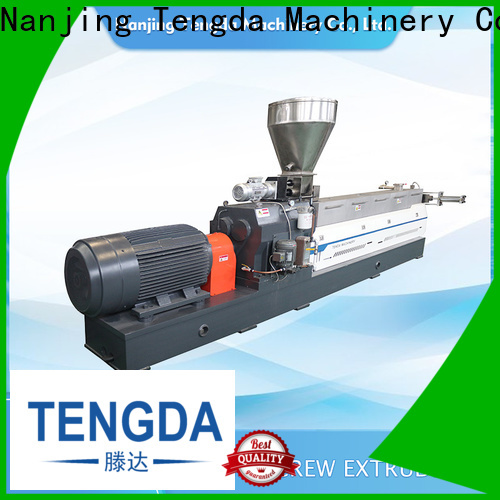 TENGDA Latest twin extruder machine company for PVC pipe