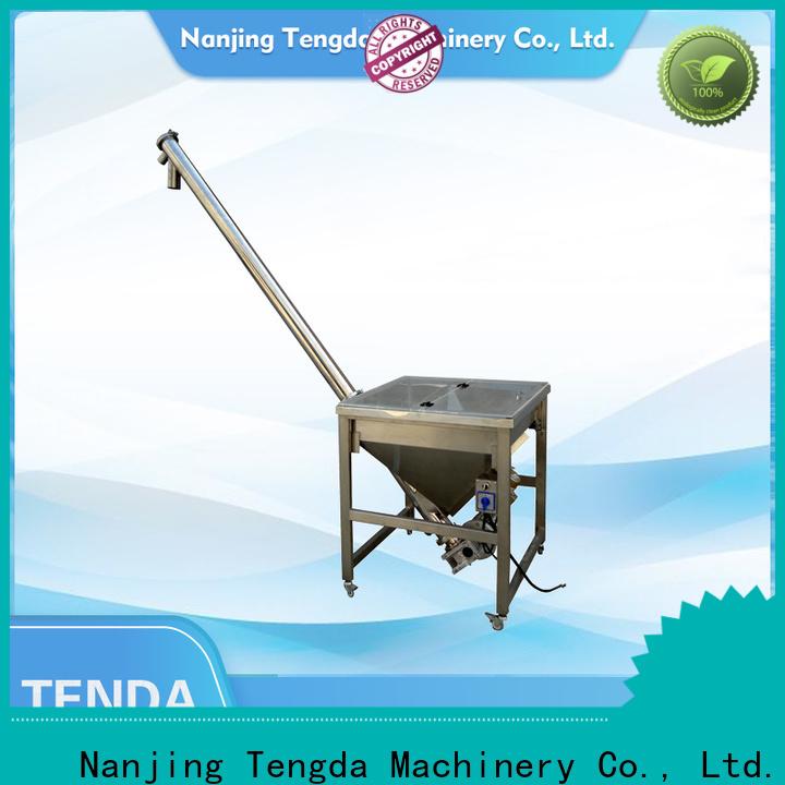 TENGDA Best plastic pelletizer machine factory for clay