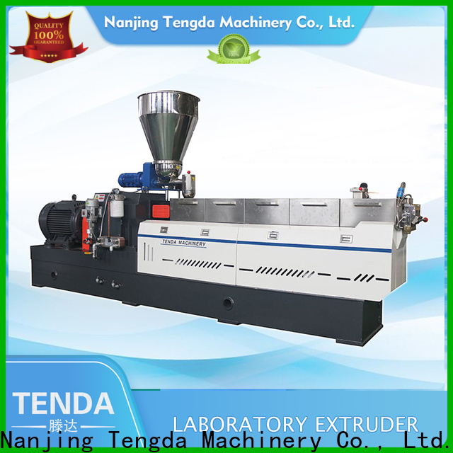 TENGDA twin extruder machine supply for PVC pipe