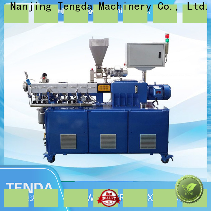 TENGDA lab extruder for sale suppliers for plastic