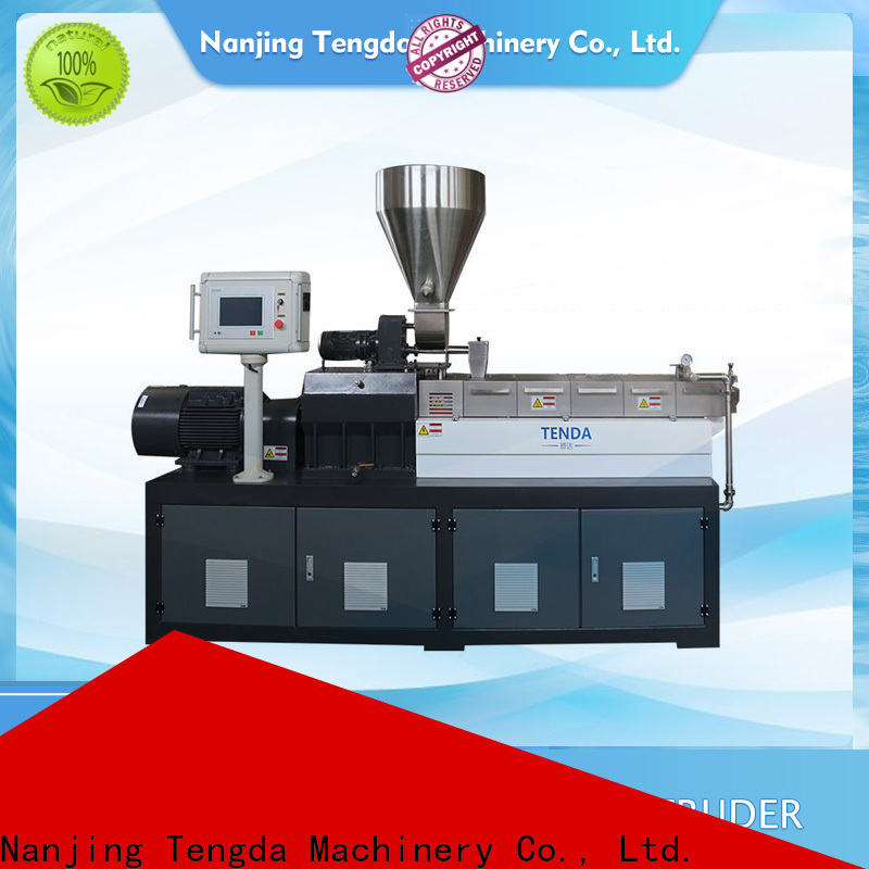 TENGDA pp film extruder supply for PVC pipe