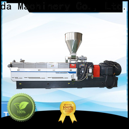 TENGDA buy twin screw extruder company for PVC pipe
