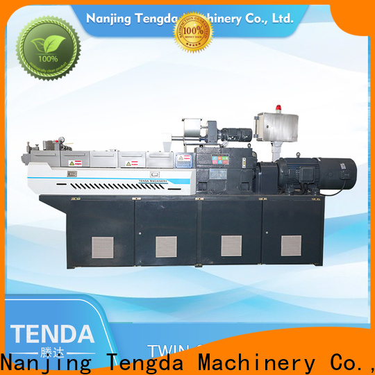 TENGDA lab scale twin screw extruder for business for plastic