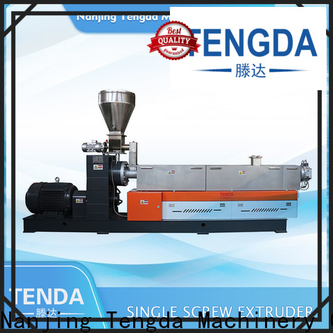 TENGDA plastic extrusion machine manufacturers factory for food