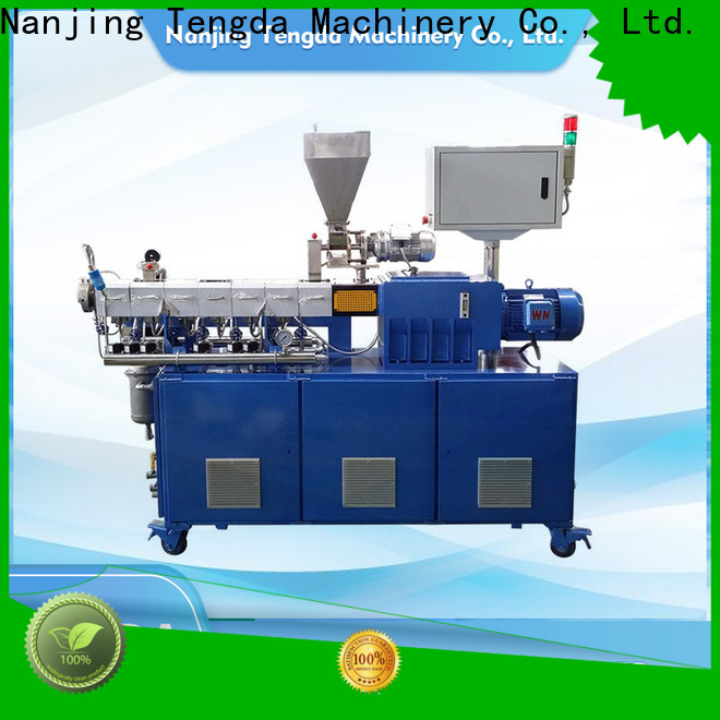 TENGDA lab scale extruder manufacturers for plastic