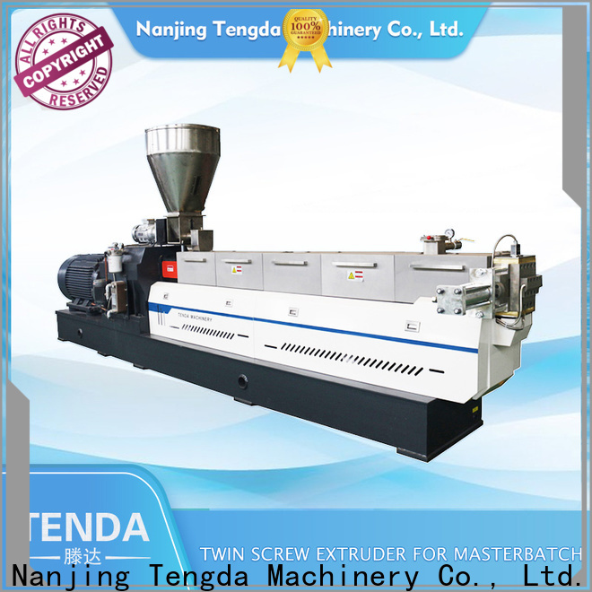 TENGDA Top steer twin screw extruder supply for PVC pipe