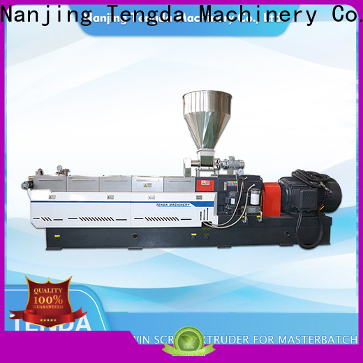TENGDA multi screw extruder manufacturers for clay