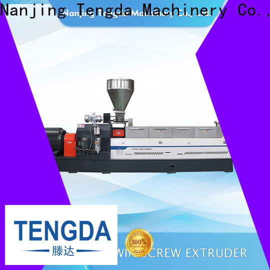 TENGDA Wholesale tsh twin screw extruder company for plastic