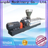 TENGDA Top twin screw food extruder factory for clay