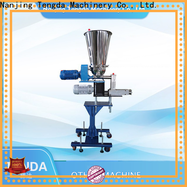 TENGDA twin screw side feeder suppliers for food
