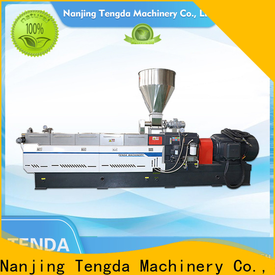 TENGDA parallel twin screw extruder suppliers for clay