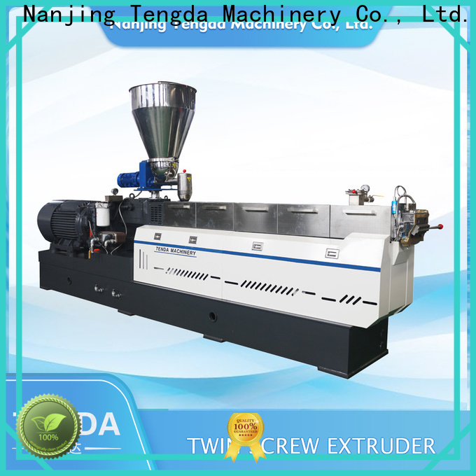 TENGDA High-quality silicone extruder factory for plastic