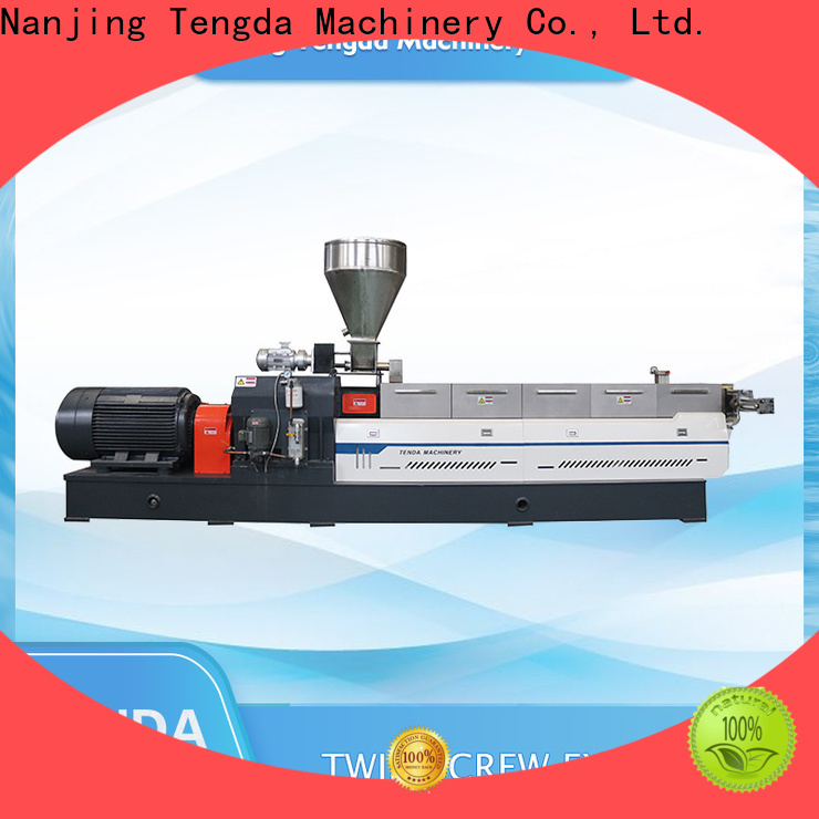 TENGDA Latest small plastic extruder suppliers for plastic