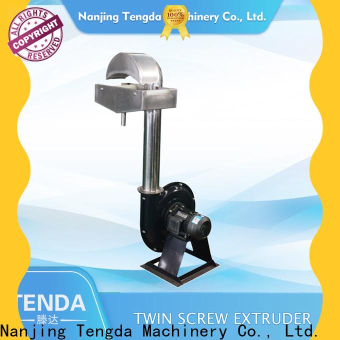 TENGDA Custom plastic pelletizer manufacturers company for PVC pipe