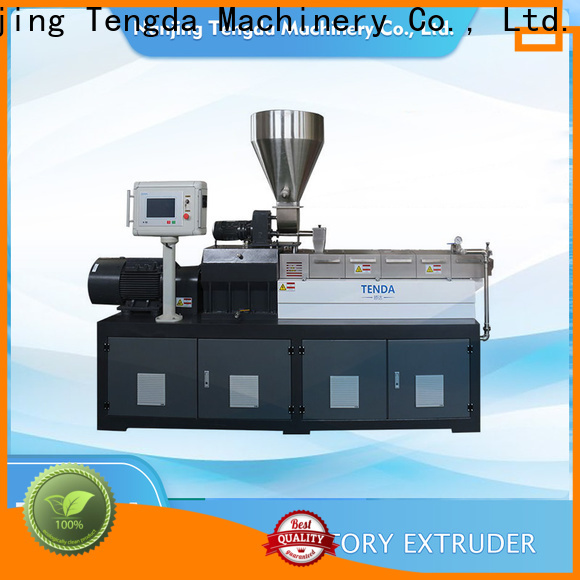 TENGDA Best pp film extruder factory for PVC pipe