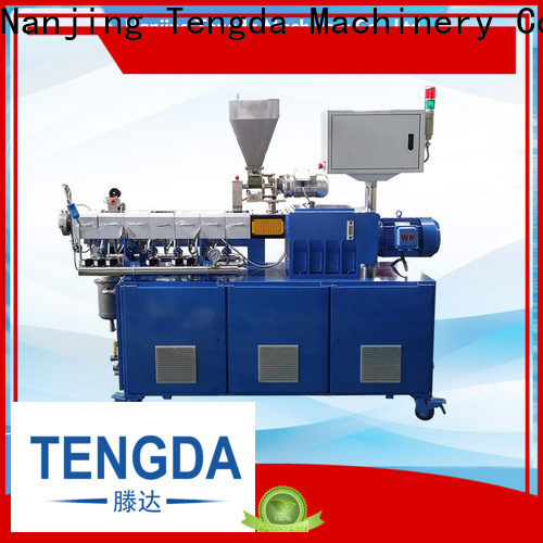 TENGDA lab extruder for sale company for plastic