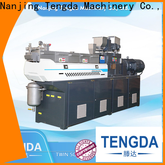 TENGDA Top laboratory twin screw extruder company for PVC pipe